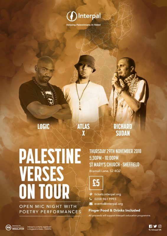 Palestine Verses on Tour - Sheffield