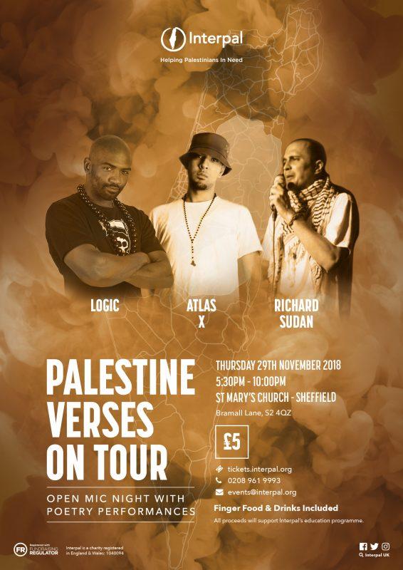 Palestine Verses on Tour - Sheffield