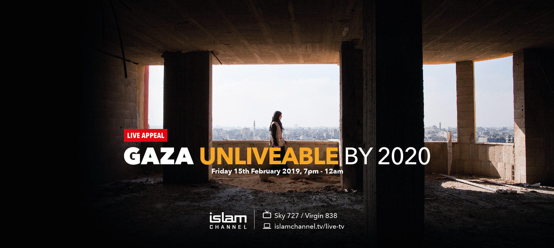Interpal Live Appeal - Friday 15th February 2019 on Islam Channel