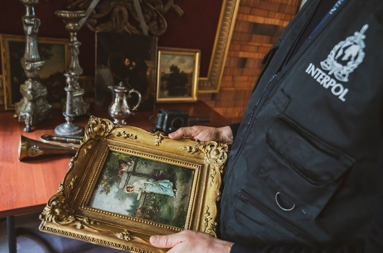 ID-Art users can instantly check if an object is among the thousands of items registered as stolen in INTERPOL's Stolen Works of Art database