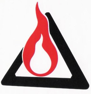 Interpretive Arson logo sticker