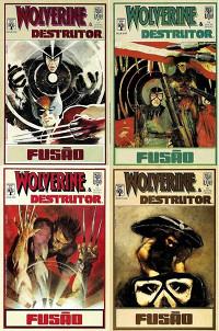 Capas da séria lançada pela Editora Abril