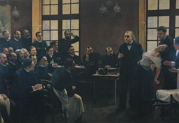 Une leçon clinique à la Salpêtrière - André Brouillet - 1887