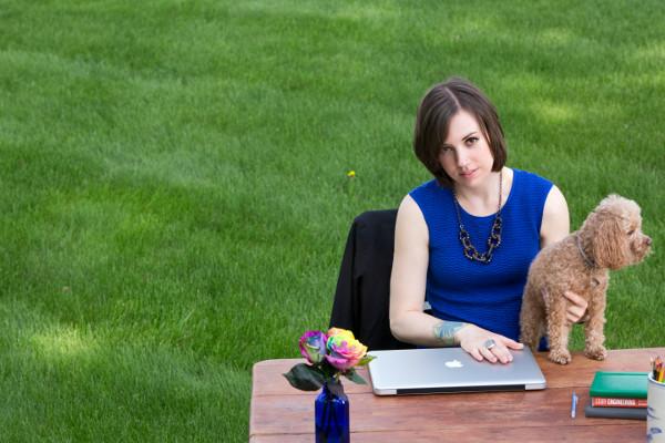 A copywriter Jennifer Blanchard