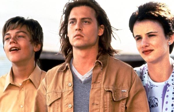 Leonardo DiCaprio, Johnny Depp e Juliette Lewis