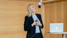 Lecture on Gender and Research at the Chalmers University of Technology in Gothenburg, Sweden, 17 January 2018