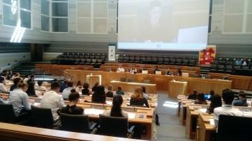 Intersection тим младих на Европском ђачком парламенту у Тулузу, јул 2018.
