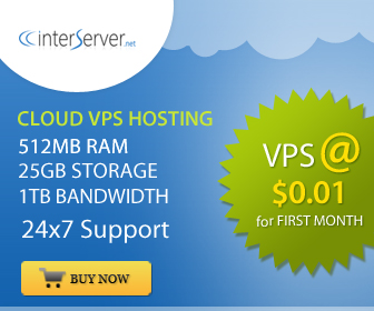 InterServer Web Hosting and VPS