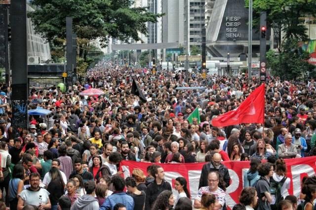 Ocupe Paulista Contra o Golpe 0005
