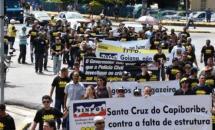 Policiais federais, municipais, rodoviários e agentes penitenciários participam da greve geral