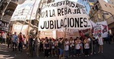 Argentinos contra reforma da previdência