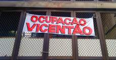 Ocupação Vicentão, em BH, sofre com pedido de reintegração de posse