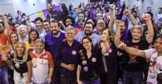 Trabalhadoras entregam manifesto de apoio a Guilherme Boulos - Intersindical