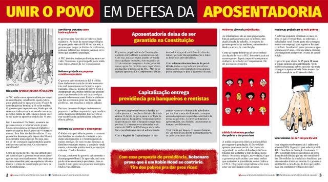 Jornal Reforma da Previdência página 2019 2-3