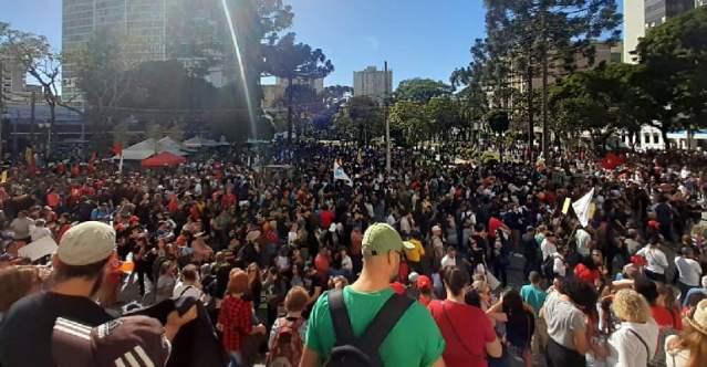 Greve do funcionalismo público do Paraná: É GRAVE, É GREVE