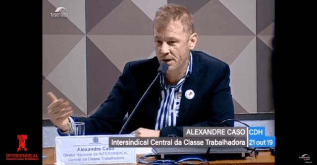 Previdência e Trabalho, Alexandre Caso