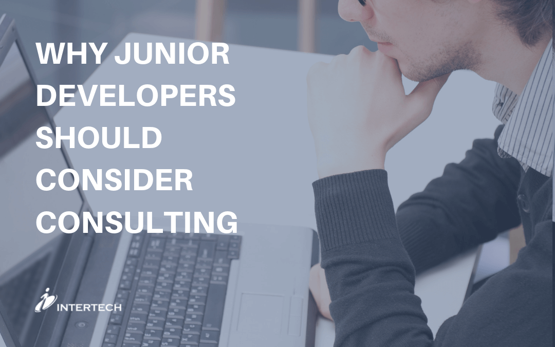 Why Junior Developers Should Consider Consulting Blog Header