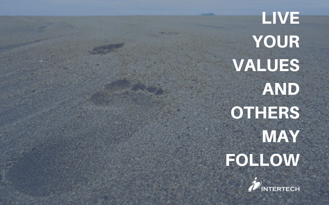 Live Your Values And Others May Follow