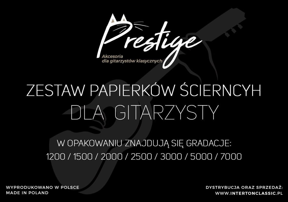 Papierki Scierne Do Paznokci Gitarzysty Prestige