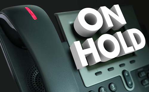 on-hold messaging