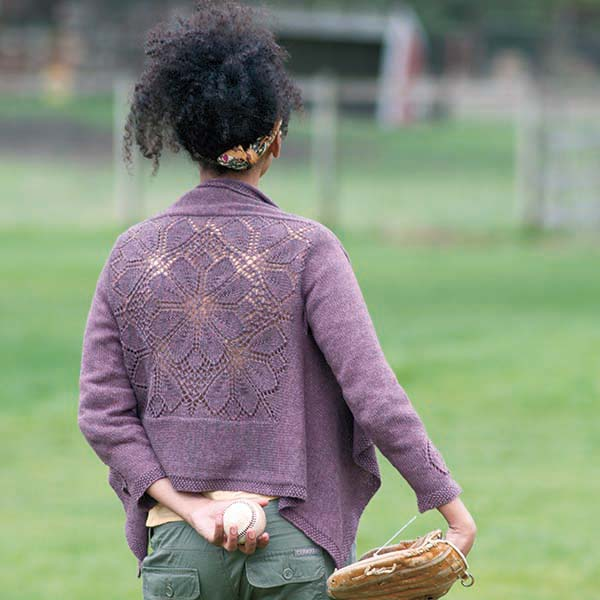 the dahlia cardigan project might just improve your knitting