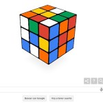 Google dedica su doodle al Cubo de Rubik en su 40 cumpleaños