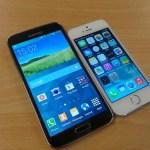 Samsung Galaxy S5 Vs iPhone 5S, ¿cuál es más resistente a los golpes y caídas?