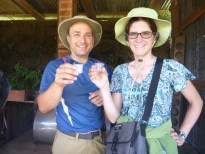 Did Nadia mention that they make moonshine from cane juice at El Trapiche?