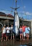 Maui: Captains Jay Rifkin and Chris Cole on Jun Ken Po caught a 1,058 pound blue marlin.