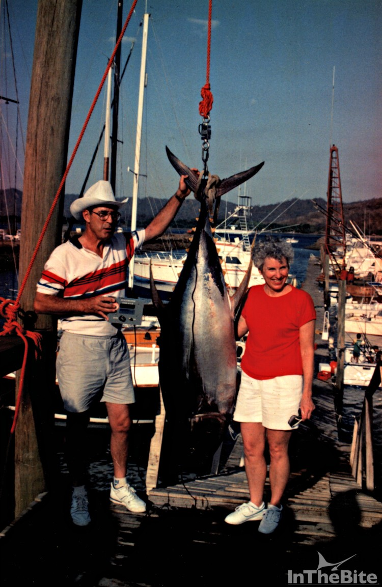 Aside from the great billfishing in the early days, the yellowfin were thick, numerous, and hungry (Photo Courtesy James McKee)
