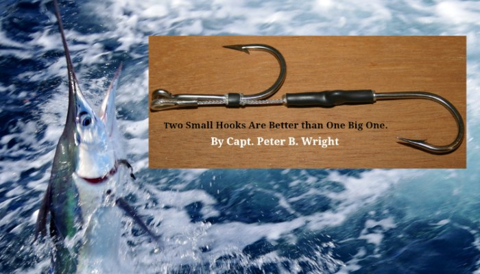 Two Small Hooks are Better than One Big Hook