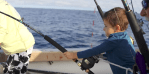 Video: 6 Year Old and White Marlin Action In Ocean City, Md.