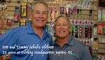 Pete & Tommy Schulz Celebrate 25 Years at Fishing Headquarters – Jupiter, Fl