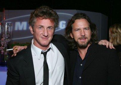 Eddie Vedder e Sean Penn
