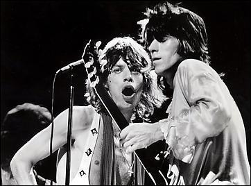 Mick Jagger & Keith Richards durante un concerto
