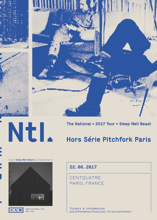 The National - Pitchfork Paris