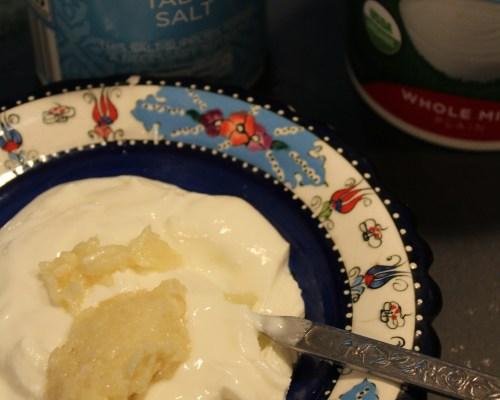 Garlic Yogurt