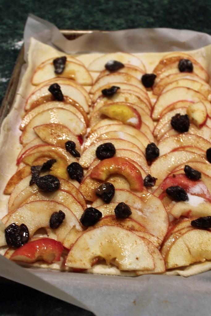 Easy as Pie Apple Tart Ready for Oven
