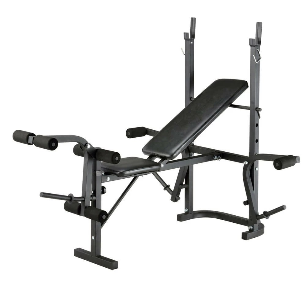 Multi Use Weight Bench Grey Multipurpose Inthemarket