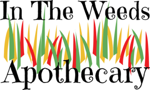 In the weeds Apothecary Black logo