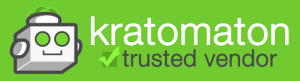 Kratomaton Trusted Vendor dark logo