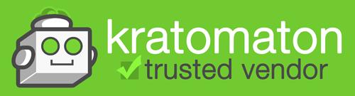 Kratomaton Trusted Vendor dark logo