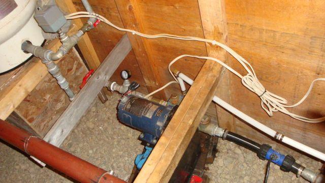 Water Pump Plumbing