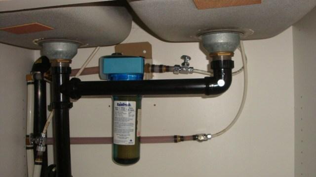 Under Sink Drinking Water Filter