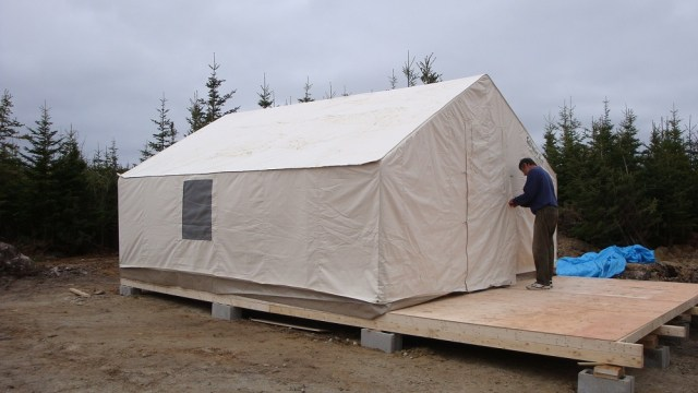 Completed Tent