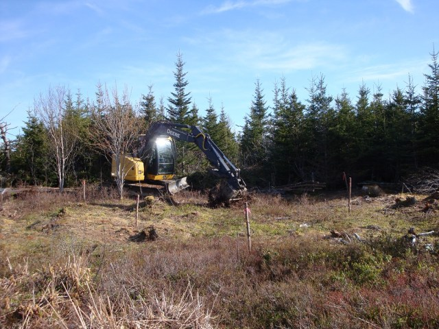 Digging Our Orchard Holes in Nova Scotia