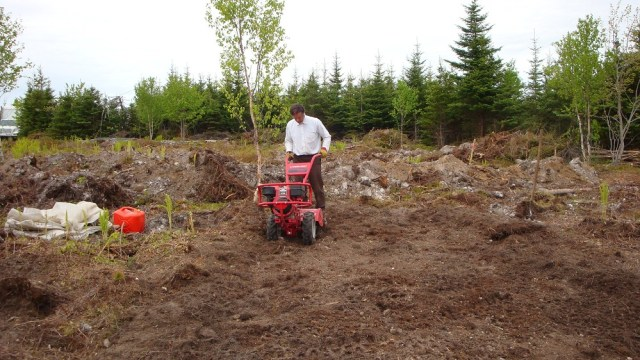 First Nova Scotia Garden Tilling