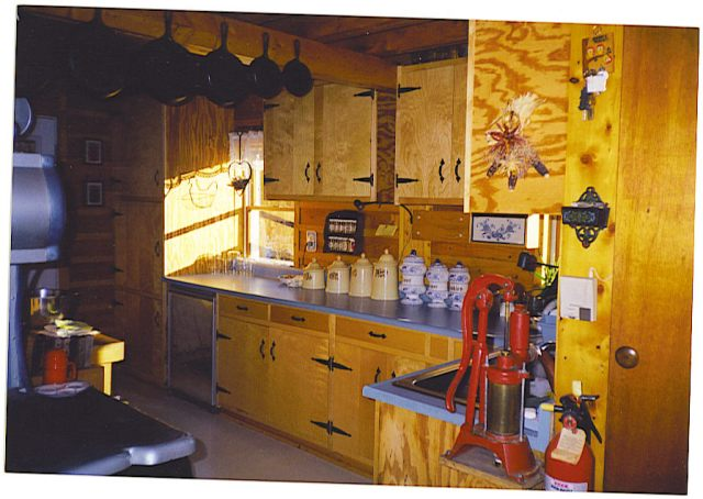 Under Counter Small Propane Frig in Maine