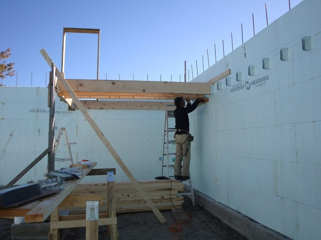 Nova Scotia ICF Floor Framing 2