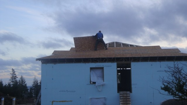 Sheathing the Roof
